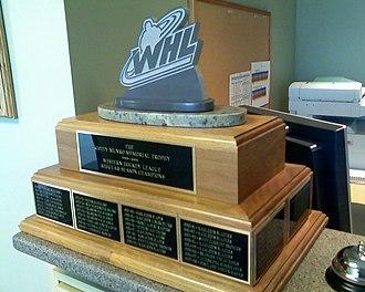 Scotty Munro Memorial Trophy - The Scotty Munro Memorial Trophy