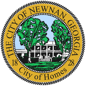 Newnan, Georgia - Image: Seal of Newnan, Georgia