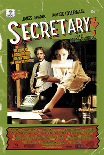<i>Secretary</i> (2002 film) 2002 film by Steven Shainberg