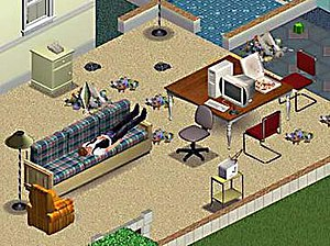 The Sims (video game) - A lazy and sloppy Sim