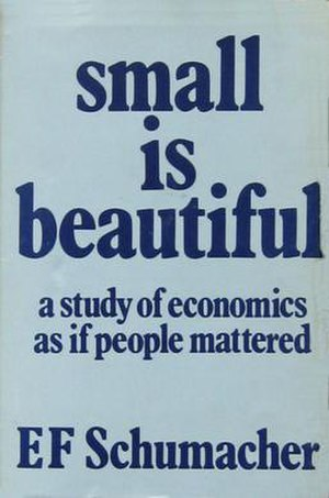 Small Is Beautiful - 1973 Cover