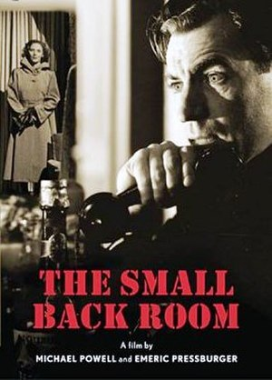 The Small Back Room - DVD cover