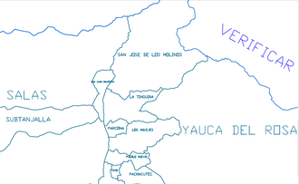 San Juan Bautista District, Ica - San Juan Bautista District and other smaller Districts around the city of Ica, Peru within the Province of Ica, Region of Ica.