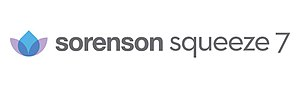 Sorenson Squeeze - Image: Sorenson squeeze 7 logo web ready