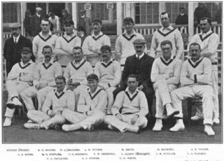 South African cricket team in England in 1907