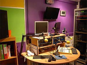 Broad Eye Windmill - Windmill Broadcasting Studio 1 in the Broad Eye Windmill