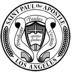 St. Paul the Apostle Church and School - Image: Stpaulschoollogo
