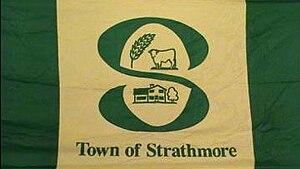 Strathmore, Alberta - Image: Strathmore AB Flag