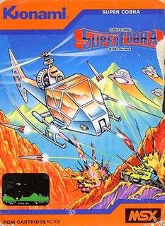 <i>Super Cobra</i> 1981 video game