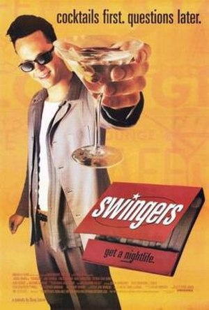 Swingers (1996 film) - Theatrical release poster