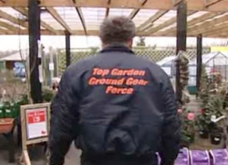 Top Ground Gear Force - Rear of Jeremy Clarkson's jacket