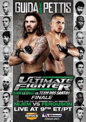 The Ultimate Fighter: Team Lesnar vs. Team dos Santos - Image: TUF13Finale