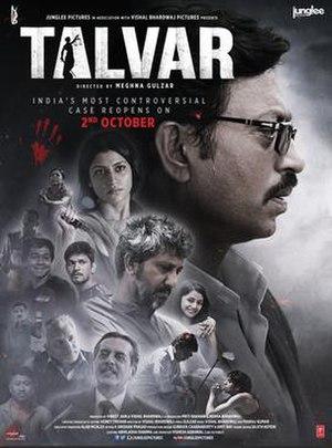 Talvar (film) - Theatrical Poster
