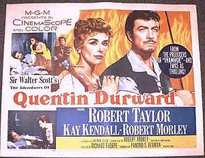 The Adventures of Quentin Durward - Theatrical release poster
