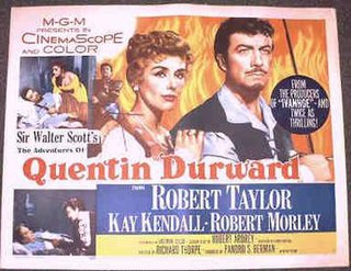 <i>The Adventures of Quentin Durward</i> 1955 film by Richard Thorpe