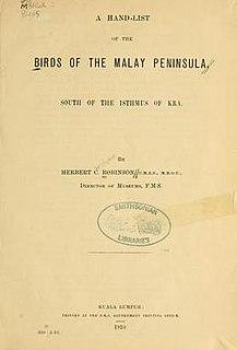 <i>The Birds of the Malay Peninsula</i>