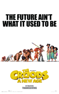 <i>The Croods: A New Age</i> 2020 animated film directed by Joel Crawford