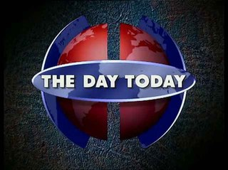 <i>The Day Today</i> surreal British parody of television current affairs programmes