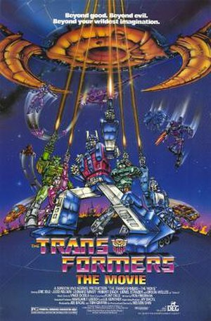 The Transformers: The Movie - Theatrical release poster