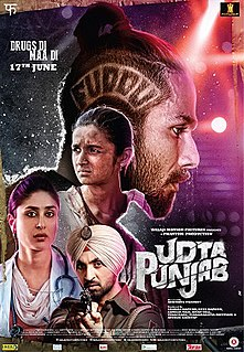 <i>Udta Punjab</i> 2016 Indian film directed by Abhishek Chaubey