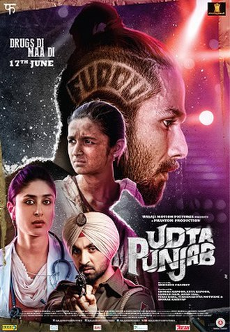 Udta Punjab - Theatrical release poster