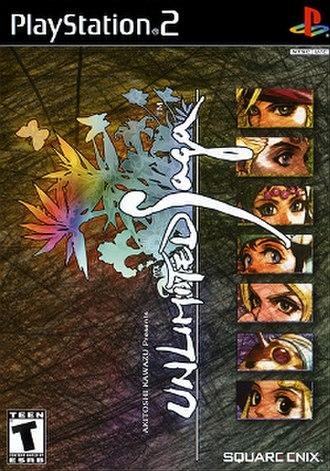 Unlimited Saga - North American cover art