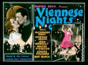 Viennese Nights - Image: Viennese Nights 1930