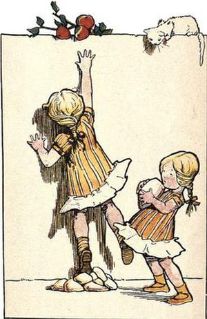 Honor C. Appleton - Illustration by Honor C. Appleton from Dumpy Proverbs, 1903