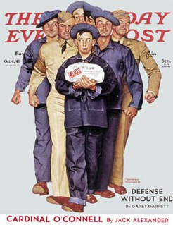 Willie Gillis fictional character depicted in paintings of Norman Rockwell
