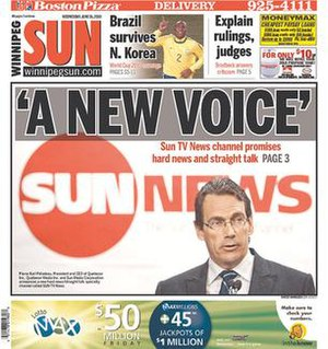 Winnipeg Sun - Image: Winnipeg Sun 06162010