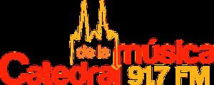 XHQL-FM - Image: XHQL Catedral Musica 91.7 logo