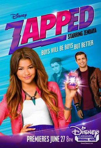 Zapped (2014 film) - Promotional poster