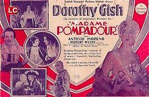 """Madame Pompadour (film) - Image: """"Madame Pompadour"""" (1927)"""