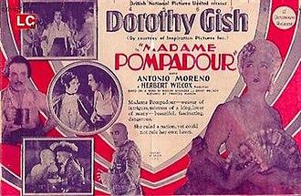 """Madame Pompadour (1927 film) - Image: """"Madame Pompadour"""" (1927)"""