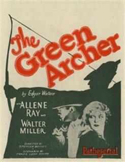 <i>The Green Archer</i> (1925 serial) 1925 film
