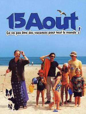 15 August (2001 film) - Theatrical release poster