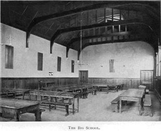Warwick School - The late Victorian appearance of Big School