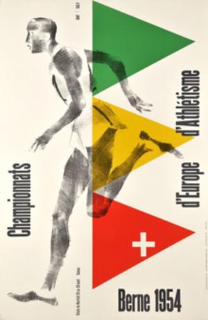 1954 European Athletics Championships - Image: 1954 European Athletics Championships logo
