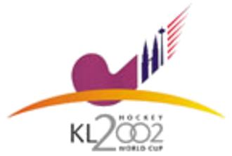 2002 Men's Hockey World Cup - Image: 2002 Men's Hockey World Cup logo