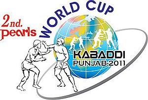 2011 Kabaddi World Cup (Circle style) - Logo of the 2011 Kabaddi World Cup