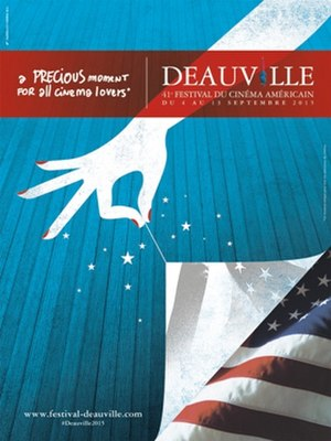2015 Deauville American Film Festival - Festival poster