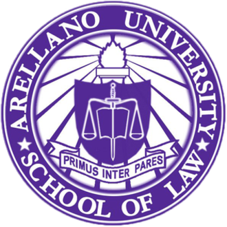 Arellano University School of Law - The official seal of the Arellano University School of Law