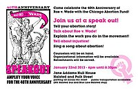 A flyer advertising Chicago Abortion Fund's Roe v. Wade 40th Anniversary event.jpg