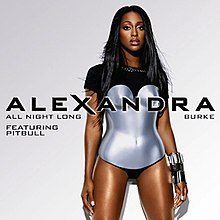 Alexandra Burke featuring Pitbull — All Night Long (studio acapella)