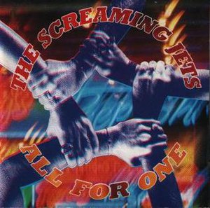 All for One (The Screaming Jets album) - Image: All For One Screaming Jets