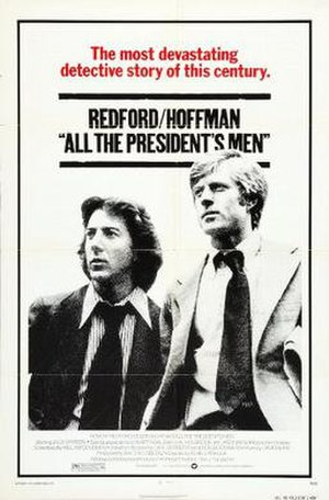 All the President's Men (film) - Theatrical release poster