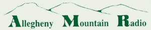 Allegheny Mountain Radio - Logo used from late 2009 until early 2014.