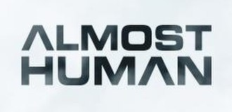 Almost Human (TV series) - Image: Almost Human (TV series) logo
