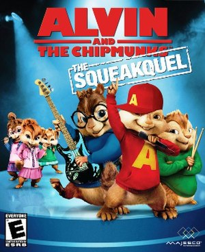 Alvin and the Chipmunks: The Squeakquel - Image: Alvin and the Chipmunks The Squeakquel Cover