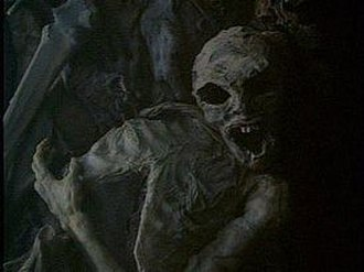Anasazi (The X-Files) - A burnt alien corpse, found in a deserted boxcar.